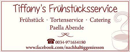 Tiffanys Frühstücksservice