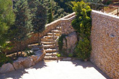 Finca Cas Poble - Treppe zum Pool