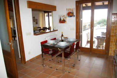 Finca Cas Poble - Essplatz in der Küche