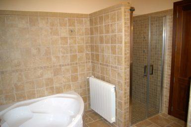 Finca Cas Poble - Dusche im Bad