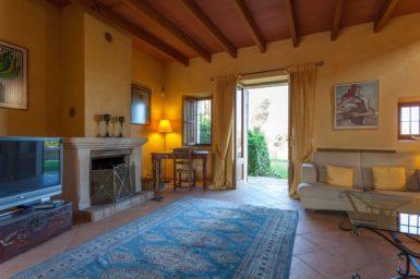 Finca Can Gall - Ausgang vom Wohnzimmer