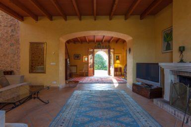 Finca Can Gall - großzügige Innenbereiche