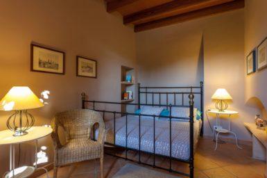 Finca Can Gall - Schlafzimmer mit Doppelbett