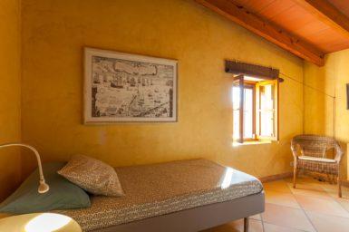 Finca Can Gall - Schlafzimmer mit 2 Einzelbetten