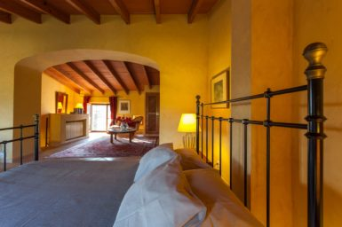 Finca Can Gall - großes Schlafzimmer im OG