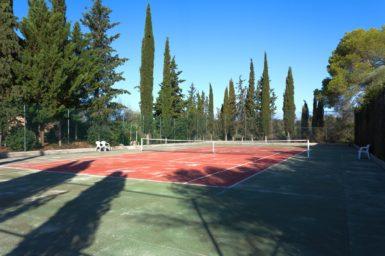 Finca Mallorca Tennisplatz