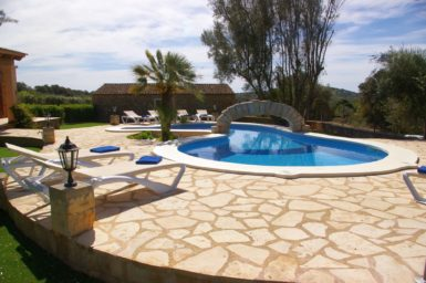 Finca Can Ravell - Poollandschaft