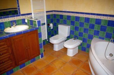 Finca Can Ravell - bad mit WC und Bidet