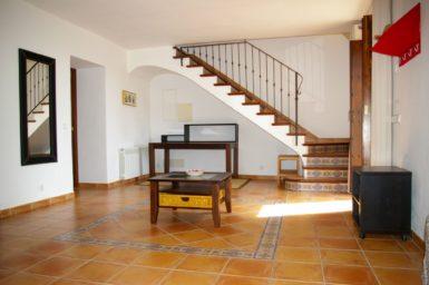 Finca Can Ravell - Aufgang ins Obergeschoss