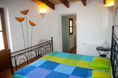 Finca Can Ravell - Schlafzimmer mit Bad en Suite