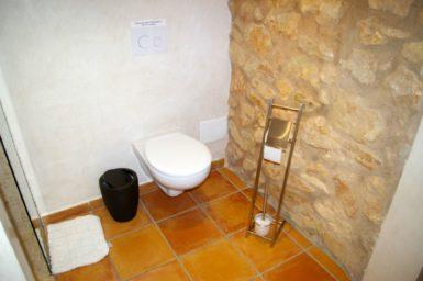 Finca Can Ravell - Bad mit Dusche und WC