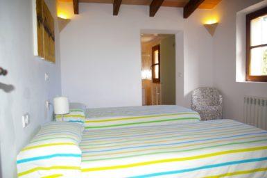 Finca Can Ravell - Schlafzimmer mit Bad en Suite im OG