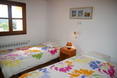 Finca Can Ravell - Schlafzimmer mit 2 Einzelbetten im OG