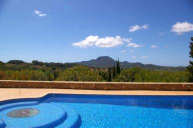 Ausblick Finca Mallorca