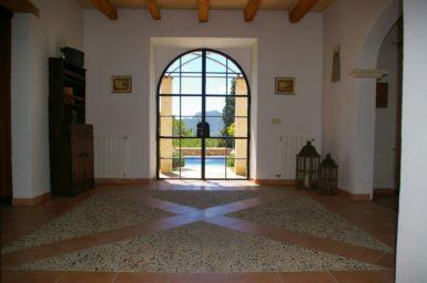 Eingangsbereich Finca Can Xigala