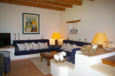 Wohnzimmer der Finca