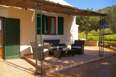 Überdachte Terrasse Finca Mallorca