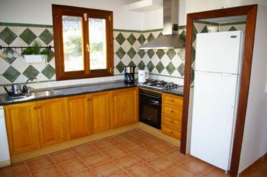 Küche Finca Cova