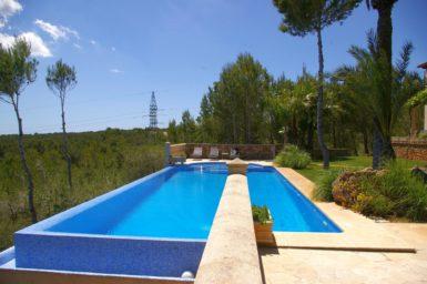 Großer Pool 12x5 Meter