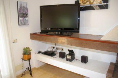Sat-TV im Wohnbereich