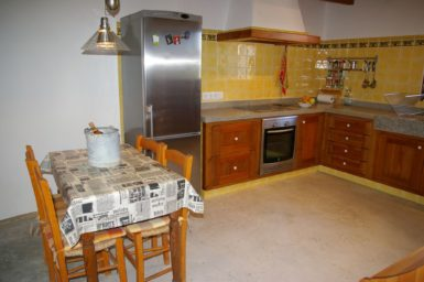 Finca Hortella - Essplatz in der Küche