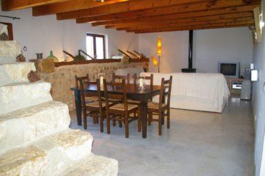 Finca Hortella - Ess-/Wohnbereich