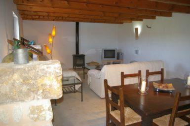 Finca Hortella - Wohn und Essbereich
