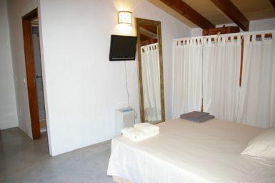 Finca Hortella - Schlafzimmer mit Sat-TV