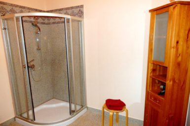 Finca La Cabana - Dusche im Gästehaus