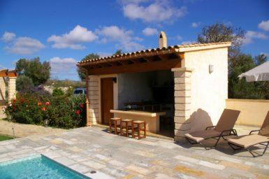 Finca Manolo - Grillhaus mit WC und Dusche