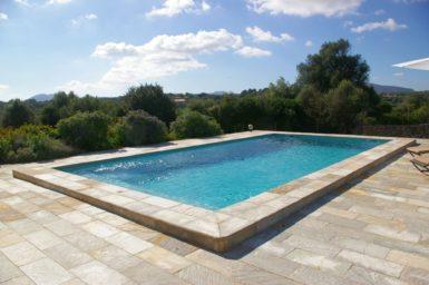 Finca Manolo - Pool mit Aussicht