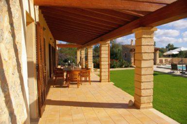 Finca Manolo - Außenmöbel auf der Terrasse