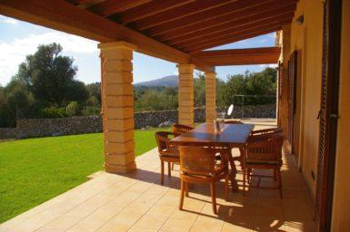 Finca Manolo - Essplatz auf der Terrasse