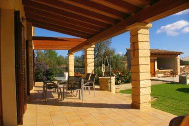 Finca Manolo - großzügige Terrasse
