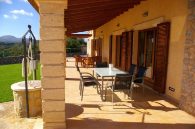 Finca Manolo - Terrasse mit Außenmöbel