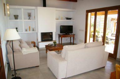 Finca Manolo - Wohnbereich mit Sat-TV