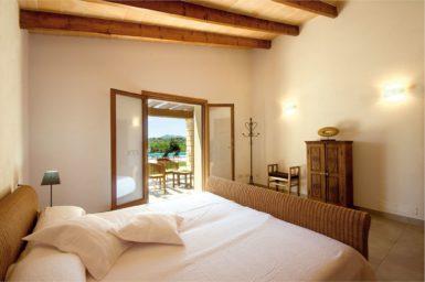 Finca Manolo - Schlafzimmer mit Zugang auf die Terrasse