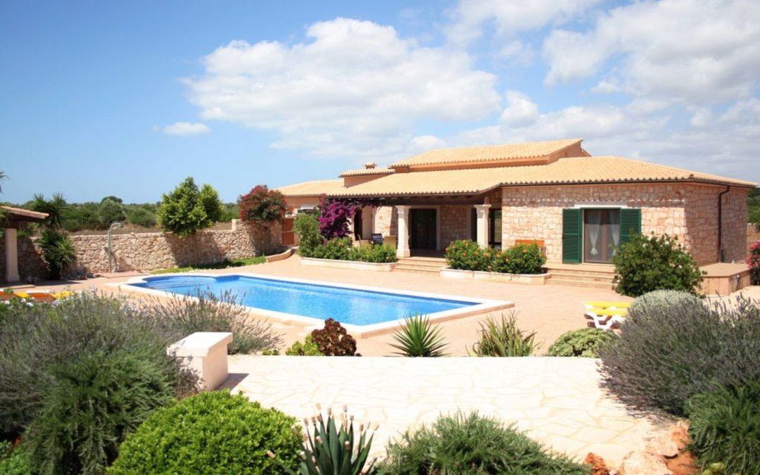 Finca Mallorca mit Pool nahe Santanyi