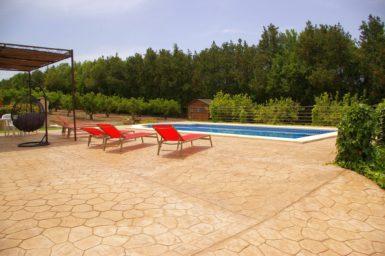 Finca Sa Taulada - Pool mit Poolterrasse