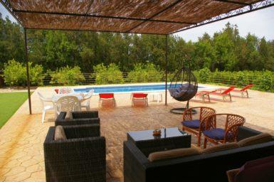 Finca Sa Taulada - Blick auf den Pool