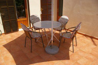 Finca Sa Taulada - Sitzplatz auf den Balkon