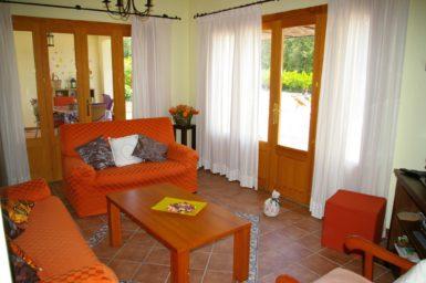 Finca Sa Taulada - Zugang auf die Terrasse