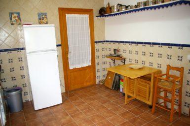 Finca Sa Taulada - Küche mit Kühlschrank