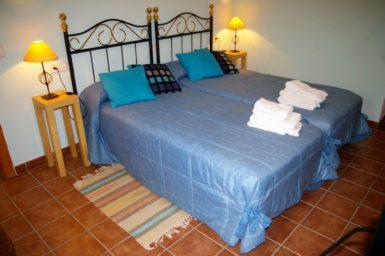 Finca Sa Taulada - Schlafzimmer mit Doppelbett