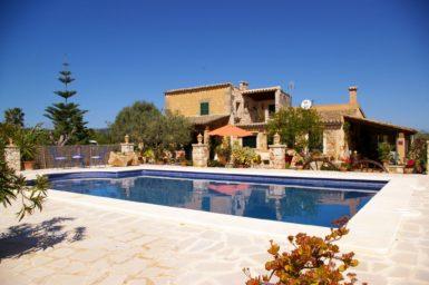 Finca Mallorca mit Pool und schönen Garten