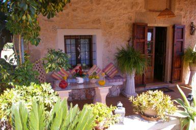 Romantische Plätze auf der Finca Ses Terrasses