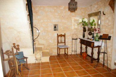 Eingangsbereich in der Finca Ses Terrasses