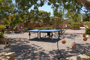 Finca mit Tischtennis
