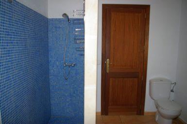 Bad mit Dusche Finca Son Cosina