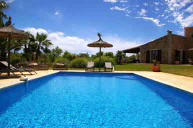 Pool Finca nahe Santanyi
